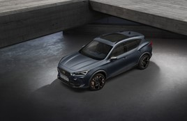 The Cupra Formentor performance SUV