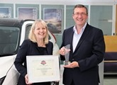 Mitsubishi Motors UK customer service award
