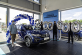 Dacia UK's 200,000th new car sales, at Brayleys Cars Milton Keynes