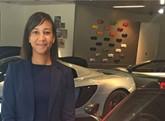 Charlotte Stevens, nee Dafe, of Jardine's McLaren Ascot dealership