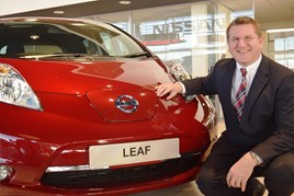 Dale Richardson, Nissan operations director at Wessex Garages