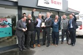 Dales Seat Scorrier has been named Seat Dealer of the Year for outstanding performance in 2017.