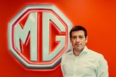 MG sales and marketing director Daniel Gregorious
