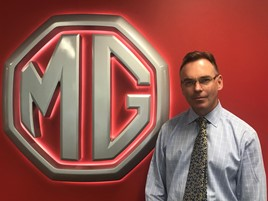 David Allington, network development manager, MG Motor UK
