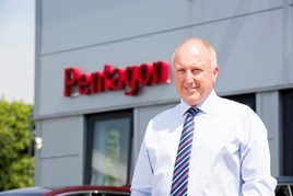 David Lewis, Pentagon Motor Group managing director