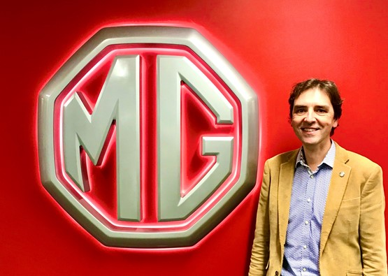 MG Motor UK commercial director, David Pugh