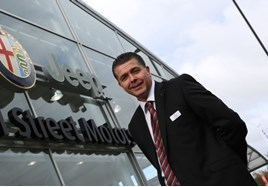 Tributes: Dax Pearce, projects general manager at Vertu Motors