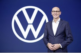 Incoming VW chief executive, Ralf Brandstätter