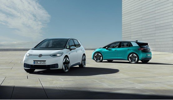 Volkswagen's forthcoming ID.3 hatchback electric vehicle (EV)