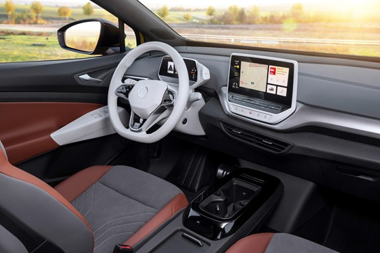 Inside the new VW ID.4 SUV EV
