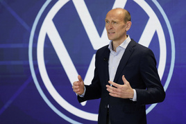 Volkswagen  chief executive, Ralf Brandstätter