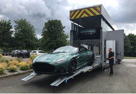 One of 24 Superleggera-based DS 59 coupes arrives at 24 Hours of Le Mans