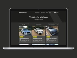 Motorway's 'Motorway Pro' used car buying platform