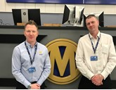 Manheim's new general managers, Dean Ashworth and John Fletcher