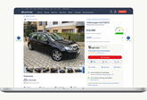 An Auto Trader classified advert using the new COVID-19 lockdown marketing tools