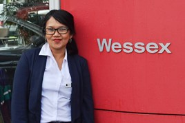 Dewi Tapin, digital parts executive, Wessex Garages
