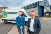 Dan Besau (left) and Phil Newstead of SMART repair firm DHMB in Leeds.