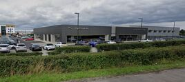 Dick Lovett Jaguar Land Rover dealership at Melksham
