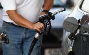 Diesel pump in use