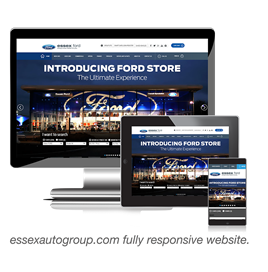 Essex Auto Group launches new responsive website