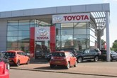 Dingles Motor Group's Norwich Toyota site
