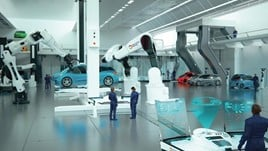 A vision of the car workshop in 2050