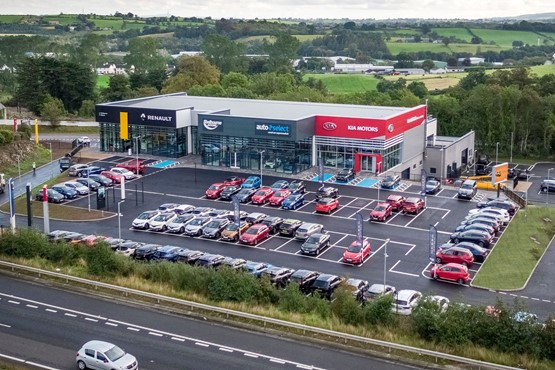 Shelbourne Motors' £5m multi-brand Renault and Kia car retail site in Newry