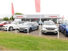 DM Keith's new Honda franchise in Grimsby