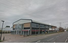 Donalds Group's former Mazda and Volvo showroom in Ipswich