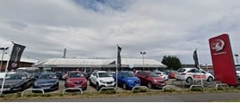 Drive Motor Retail's Stockton Vauxhall dealership, prior to the addition of Citroen