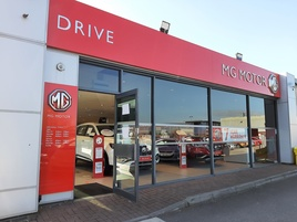 Drive Motor Retail's new MG dealership in Bristol North