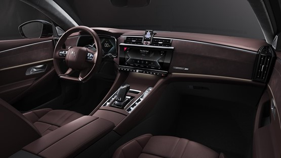 Customers can tailor the interior of their DS 9 saloon with a range of 'DS Inspirations' trim options