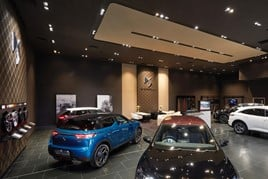 Inside the new Robins and Day DS Automobiles Store in Birmingham