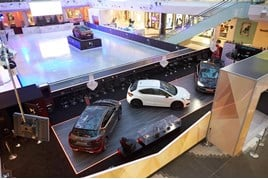 DS Automobiles at Westfield shopping centre