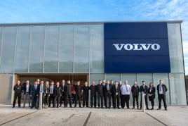 Stoneacre Motor Group's newly assembled Volvo Car UK team in Sheffield