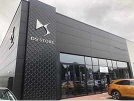 Robins & Day's new DS Automobiles Store in Leicester