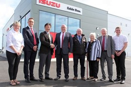 Eakin Brothers officially opens its new NI Isuzu franchise