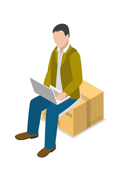 ecommerce customer ordering online