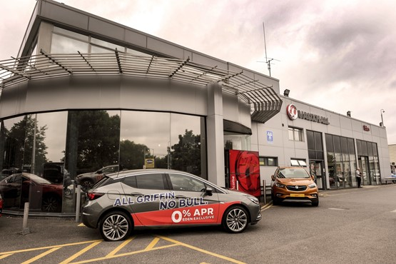 Eden Motor Group Vauxhall dealership