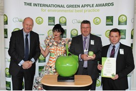 EDT at the Green Apple awards