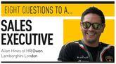 Eight questions to Allan Hines, sales executive, HR Owen Lamborghini London