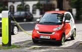 Electric smart car recharging