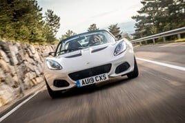 The Lotus Elise in 2019