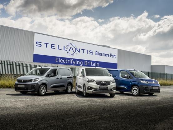 Ellesmere Port set to produce Stellantis' range of all-electric vans