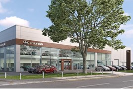 Endeavour Automotive's planned Hyundai North London facility