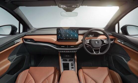 Inside the Skoda Enyaq iV EV SUV