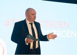 Citroën UK's managing director, Eurig Druce