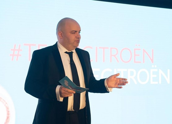 Citroen UK managing director, Eurig Druce