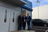 The team at Evans Halshaw's new Car Store in Norwich