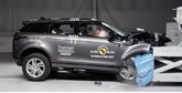 Range Rover's new Evoque in Thatcham Research's Euro NCAP tests